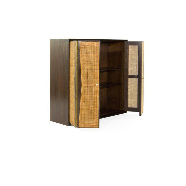 1950s Floating Liquor Cabinet by Vladimir Kagan for Grosfeld House For Sale - Image 9 of 13