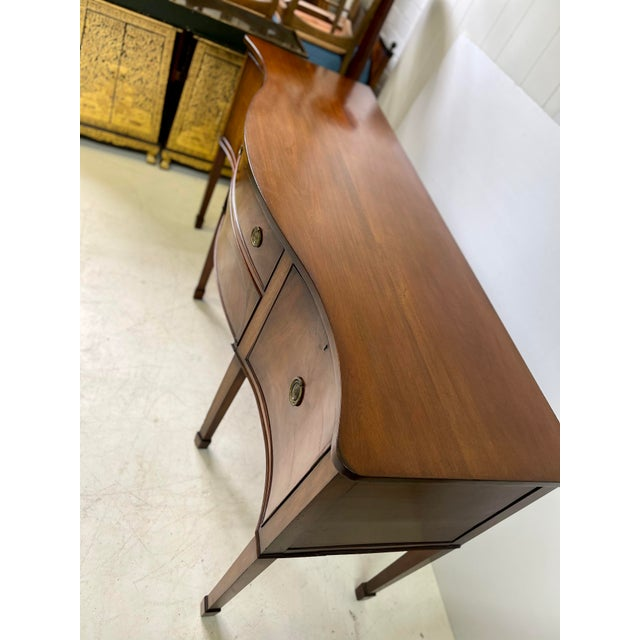 English George III Style Sideboard of Mahogany For Sale - Image 12 of 13