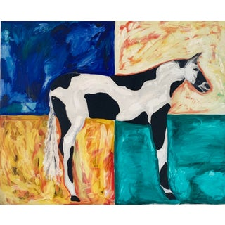 Horse Painting by Matthew Izzo For Sale