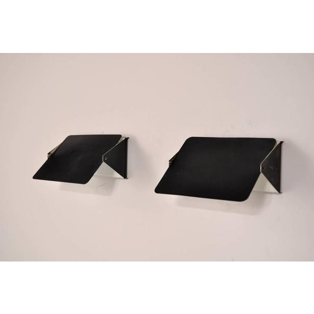Pair of Charlotte Perriand CP1 Wall Sconces for Steph Simon, France, circa 1960 - Image 4 of 7