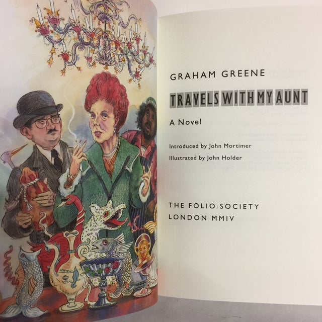 Travels With My Aunt Graham Greene Folio Society For Sale - Image 5 of 10
