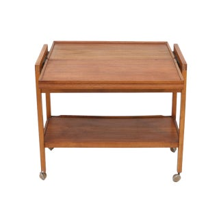 Teak Tea Cart For Sale