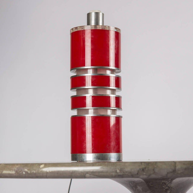 Modern Rare Table Lamp by Ingrid Hsalmarson for New Lamp For Sale - Image 3 of 10