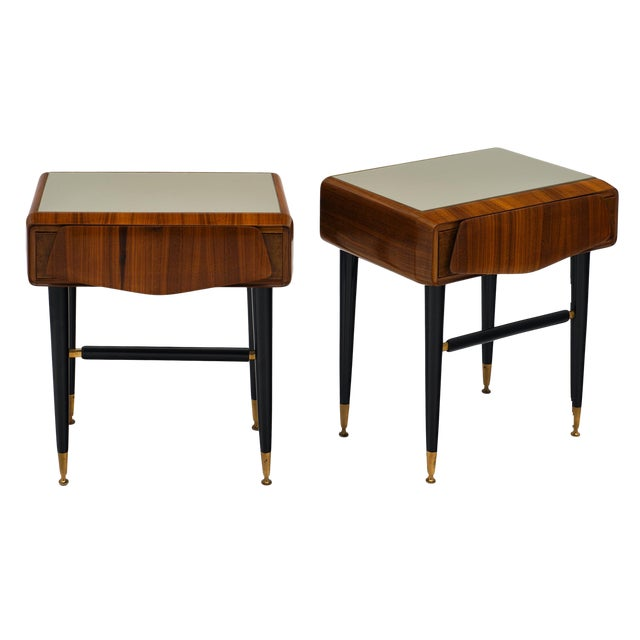 Italian Mid-Century Side Tables - a Pair For Sale