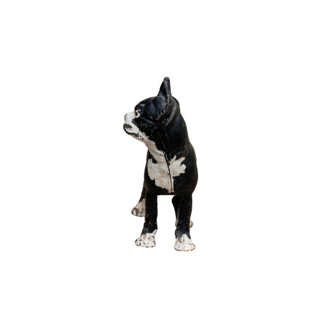 Cast Iron French Bulldog Doorstop For Sale - Image 4 of 8