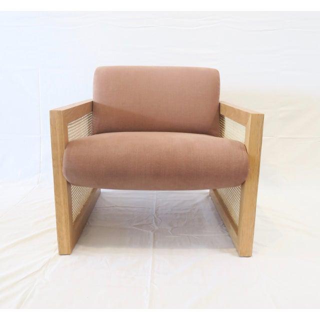 Custom Cane Armchair - Image 2 of 10