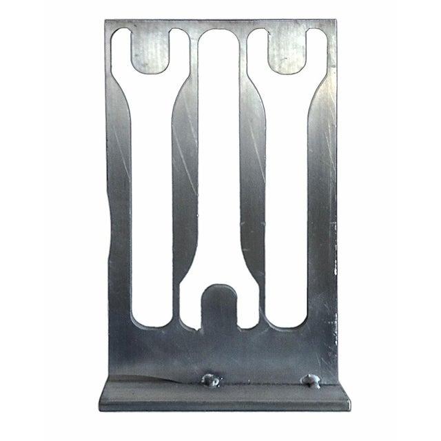 Aluminum Industrial Sculpture - Image 1 of 3