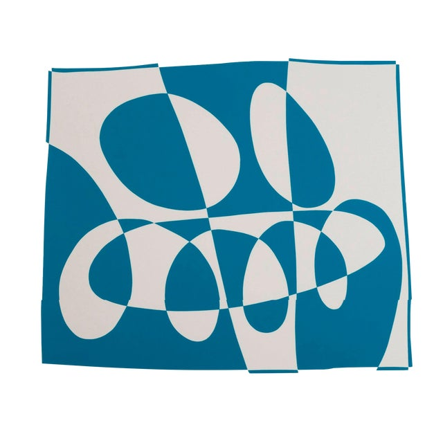 Josef Albers Diptych Silkscreen No. 3 Portfolio II For Sale