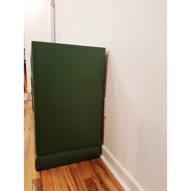 Green Campaign Style Dresser - Image 3 of 6