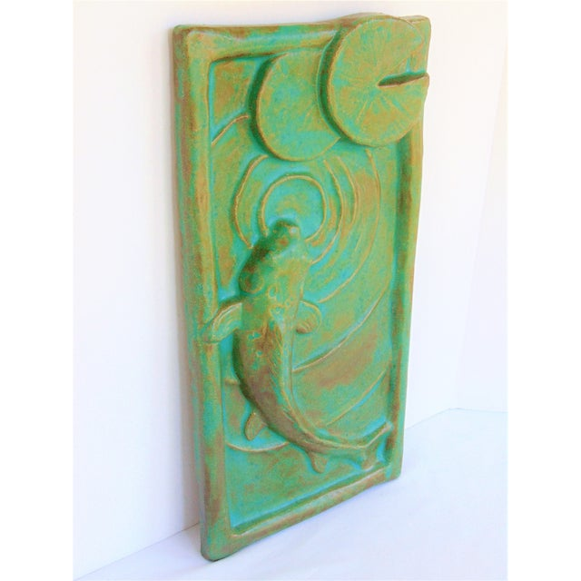 Janet Ontko Koi Wall Tile - Image 3 of 6