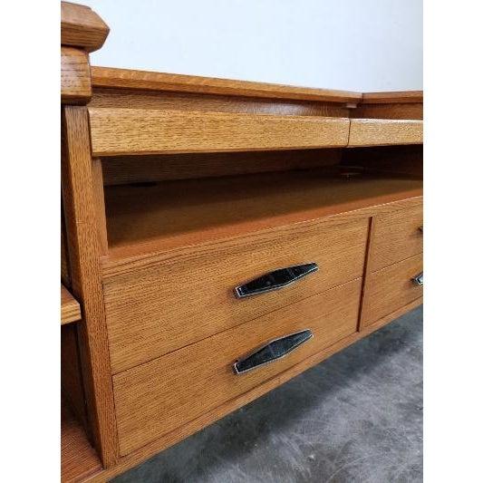 1960s 1960s Mid-Century Monteverdi Young Credenza Desk For Sale - Image 5 of 13