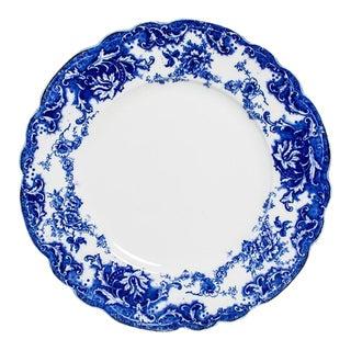 FLOW BLUE DINNER SET For Sale