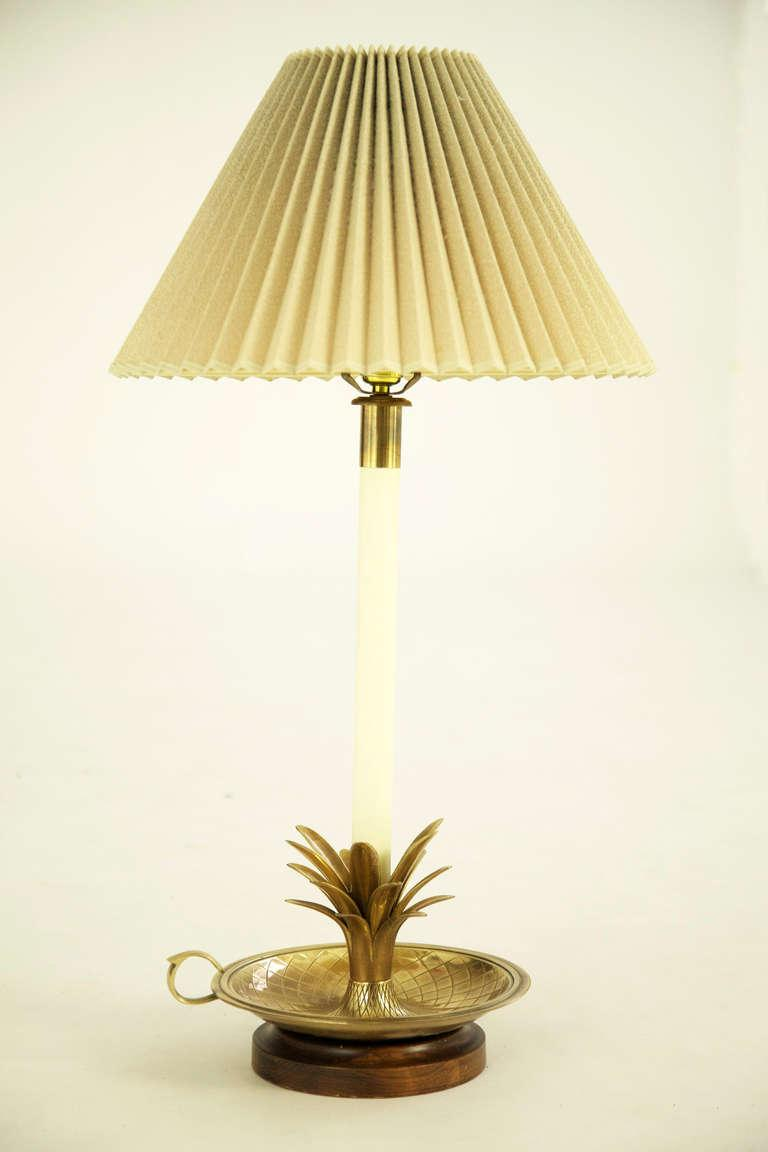 Pair Of Frederick Cooper Pineapple Lamps   Image 2 Of 7