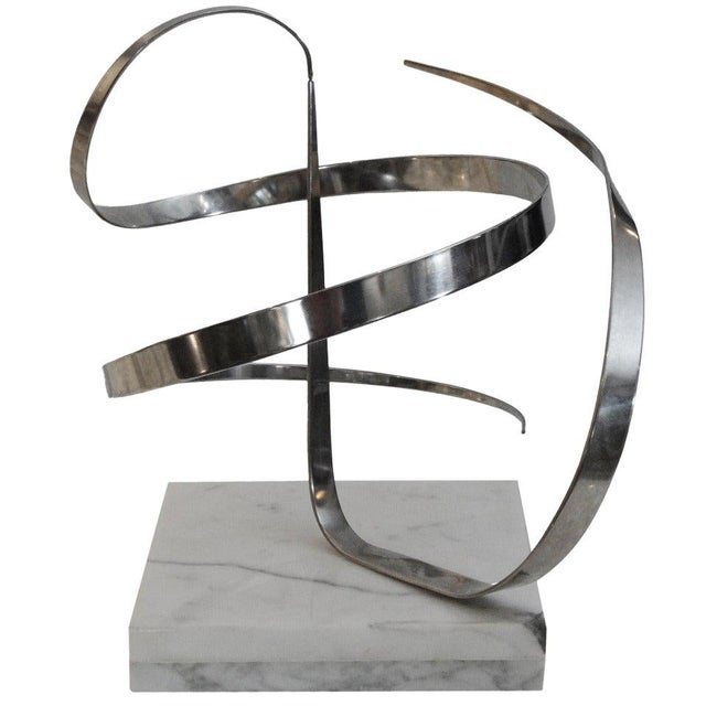 Metal Early Michael Cutler Kinetic Sculpture, 1977 For Sale - Image 7 of 7