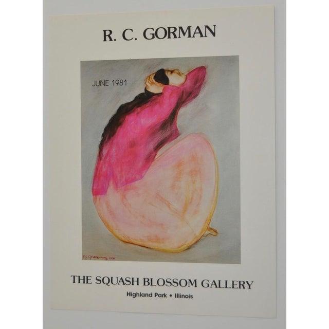 R.C. Gorman 1981 Art Exhibition Poster - Image 2 of 5