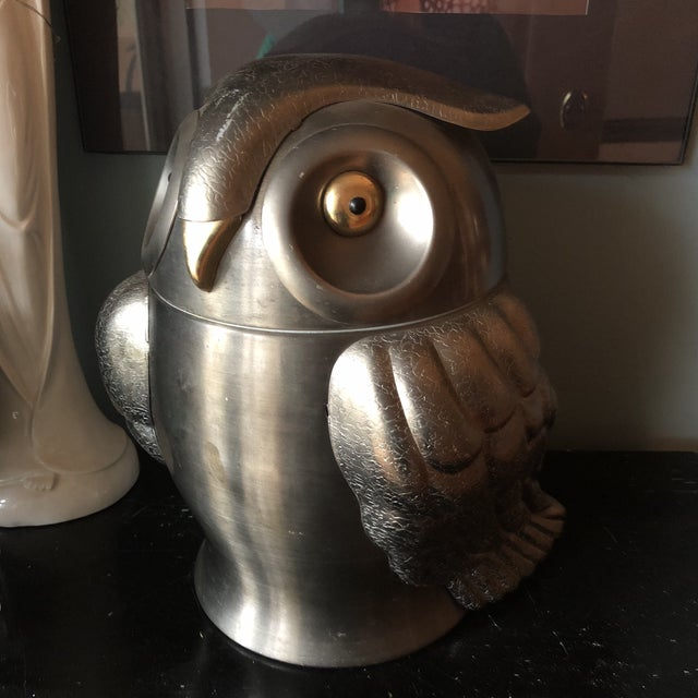 Industrial Owl Champagne Ice Bucket - Image 9 of 9