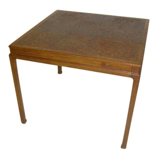 Cork Top Game Table by Edward Wormley for Dunbar For Sale