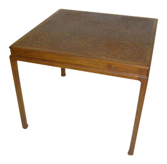 World Class Cork Top Game Table By Edward Wormley For Dunbar   DECASO