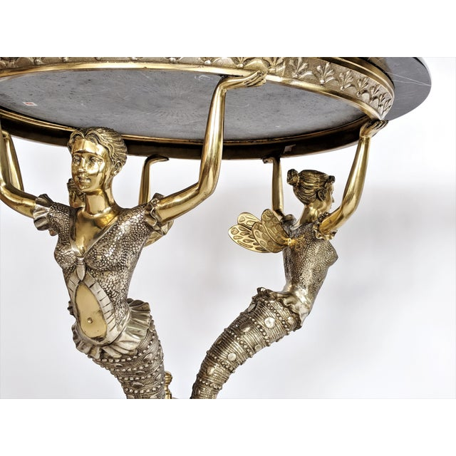 Art Nouveau Bronze Mythical Fairy Figural Tables - A Pair - Image 5 of 11