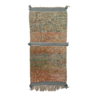 Moroccan Area Rug- 3′5″ × 7′4″ For Sale