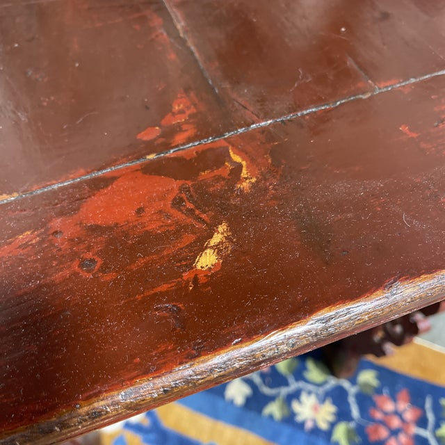 Vintage Chinese Alter Table Desk For Sale - Image 9 of 12