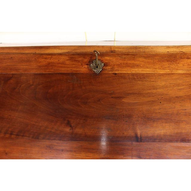 Louis XV Period Fruitwood Drop Front Desk For Sale In Richmond - Image 6 of 8