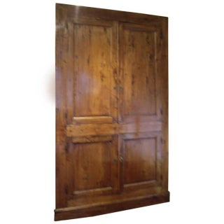 19th Century French Provincial Cabinet Front For Sale