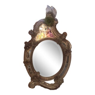 Late 19th Century Antique Venetian Mirror For Sale