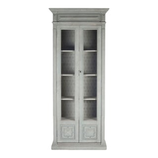 Hillary Cabinet in Palladian Blue For Sale
