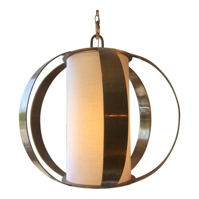 Modern Brass Light Fixture Chairish