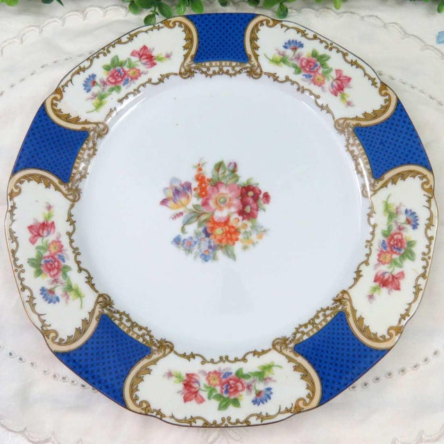 Vintage Mismatched Fine China, 5 Pc Place Setting - Image 3 of 10