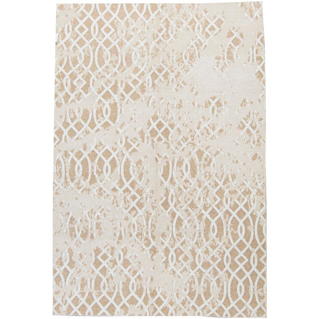 Contemporary Hand Woven Sumak Rug - 6' X 8'10 - Image 4 of 4