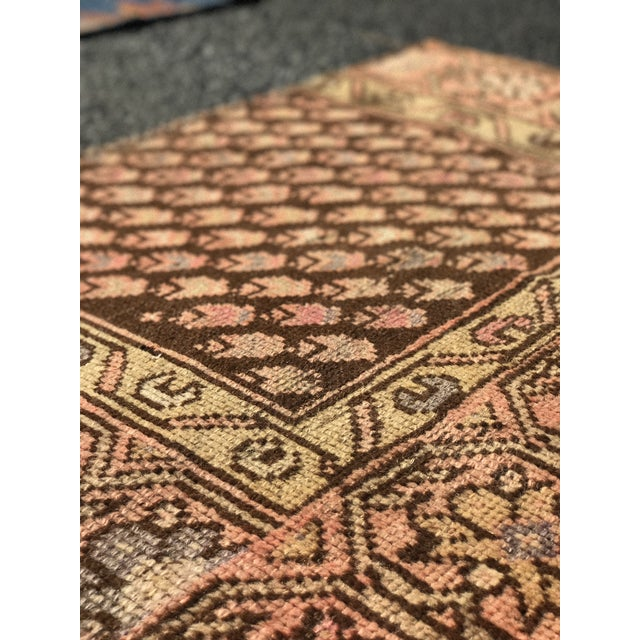 "Antique Persian Malayer Rug - 2'3"" x 3' - Image 10 of 11"