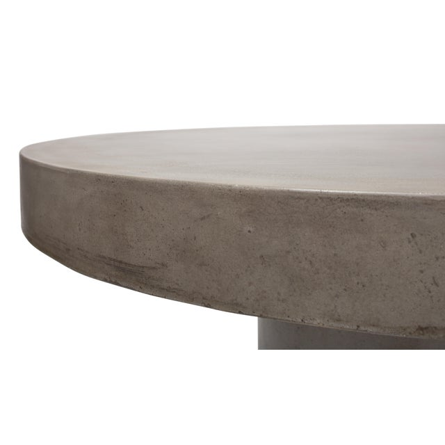 Contemporary Dining Table in Natural Gray For Sale - Image 3 of 7