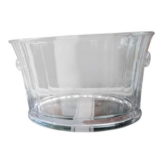 Extra Large Lucite Champagne Wine Ice Bucket Bottle Holder For Sale
