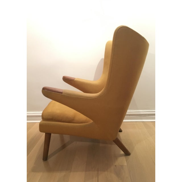 A.P. Stolen Hans Wegner Papa Bear Chair For Sale - Image 4 of 9