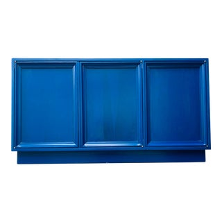 Vintage Credenza Reimagined in Klein Blue by Reitter Design Studio For Sale