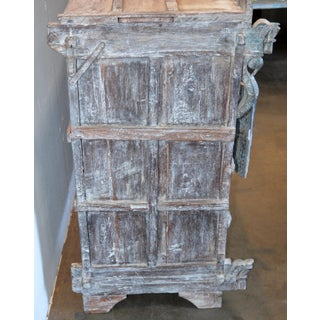 Antique Indian Carved Wooden Cabinet Preview