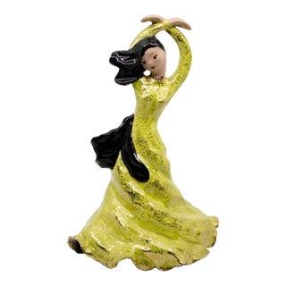 1950s Figurative Ceramic Dancing Woman by Hedi Schoop For Sale