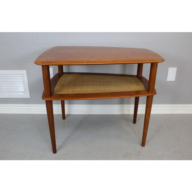 Brown Peter Hvidt MCM Solid Teak End Table - A Pair For Sale - Image 8 of 9