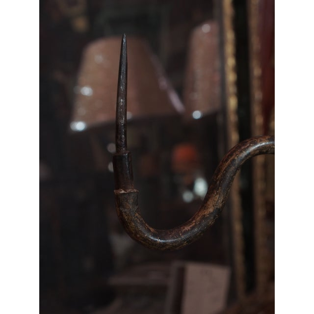 Late 19th Century Single Italian Candlestick Lamp For Sale - Image 5 of 7