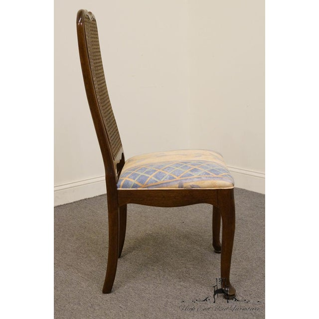 Wood Late 20th Century Vintage Davis Cabinet Co. Cherry Dining Chair For Sale - Image 7 of 8