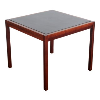 Mid Century Modern Milo Baughman for Founders Walnut Slate Coffee / End Table For Sale
