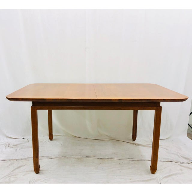 Vintage Mid Century Modern Dining Table For Sale In Raleigh - Image 6 of 12