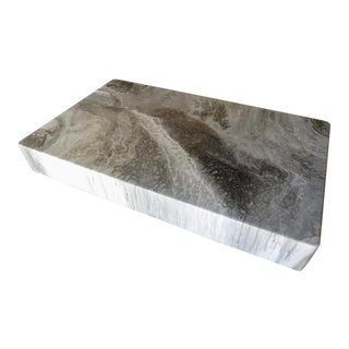 Italian Faux-Marble Rectangular Coffee Table C. 1970s For Sale