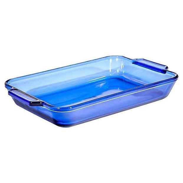 Cobalt Glass Baking Dish - Image 2 of 3