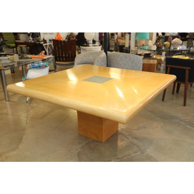 1970s Steve Chase Arthur Elrod Custom Dining Table For Sale - Image 5 of 12