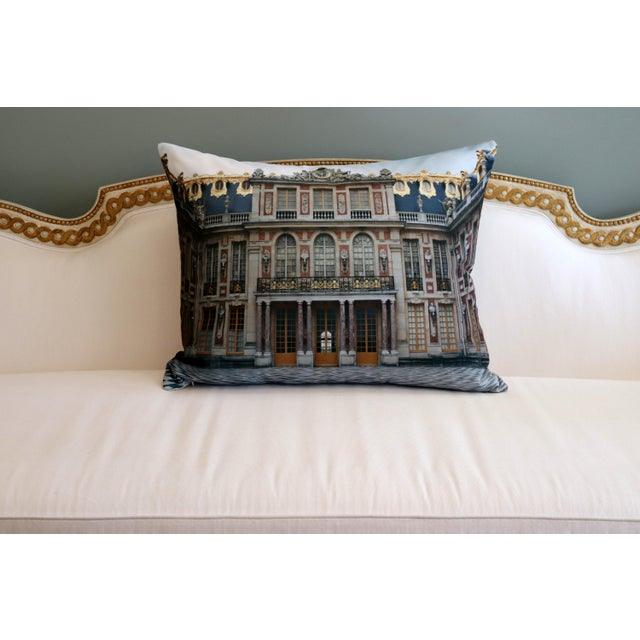 Versailles Rear Courtyard Photo Pillow For Sale - Image 6 of 12