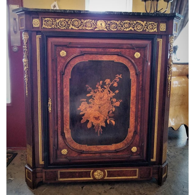 French 19th Century Louis XVI Style Cabinet - High Quality For Sale - Image 3 of 13