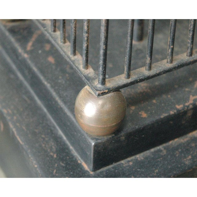 Brass Monumental Obelisk Lamp For Sale - Image 7 of 9